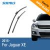 SUMKS Wiper Blades for Jaguar XE 26&17 Fit Push Button Arms 2015 2016 2017 auto car chrome r sport for jaguar xf xe xkr xjr front grill grille badge emblem