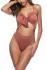 Женщин вырезать Монокини высокой талии Мягкий купальник Купальник Купальник для купания для женщин One Piece Monokini High Waist купальник 75f