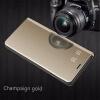 Huawei Honor 8 Lite / honor 9 Lite роскошь слим зеркало Flip Shell стоят кожаные смарт - ясно, окна покрытия телефон дело сотовый телефон huawei honor 8 lite gold