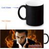Johnny Cash Morphing Mug Color Change Tea Cup Magic Milk Coffee Mug johnny cash johnny cash koncert v praze in prague live