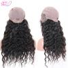 QDKZJ Loose Wave Lace Wig Virgin Бразильские человеческие волосы Curly Wave Glueless Lace Frontal Wigs для черных женщин с d20313 24cm size 9 10 inch mohair doll wigs princess long curly bjd wig