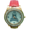 YAZILIND Дамы / Женщины часы Кристалл Эйфелева башня наручные часы Кожаный ремешок Аналоговый кварцевые наручные часы