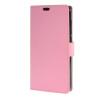 MOONCASE чехол for ZTE Blade S6 Plus S6+ Кожаный бумажник флип Чехол карты с Kickstand Дело Чехол розовый skinbox lux чехол для zte blade s6 black