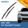 SUMKS Wiper Blades for Hyundai Tucson 24&16 Fit Hook Arms 2004 2005 2006 2007 2008 2009 sumks wiper blades for hyundai trajet 26