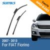 SUMKS Wiper Blades for FIAT Fiorino 26&19 Fit Bayonet Arms 2007 2008 2009 2010 2011 2012 2013 wiper blades for fiat ulysse 26