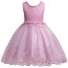 Прекрасные кружевные аппликации Бисероплетение Платья для девочек Платья для детей Платья для новорожденных Свадебные платья для первого причастия vestido comunion платья gorchica платья