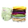 Карманные подгузники для ткани с размерами вставки Один подгузники Водонепроницаемые моющиеся подгузники для младенцев 3-15 кг подгузники