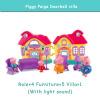 Розовый поросенок Игрушки для маленьких детей Ролевые игры мини модель украшения Ролевые игры игрушки Симпатичные Животные Пластик радиоуправляемые игрушки
