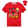 Dragon Ball Z Goku T Shirt Kids 2018 Летняя футболка с коротким рукавом 100% Хлопок Высокое качество футболки Мультфильм Аниме Топ dragon футболка dragon d c 8 white