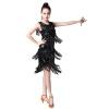 Haute Qualité De Dance Latine Paillettes Gland Vêtements de Performance De Dance Latine Étape Performance Robe Latine Rumba Concur видеоигра для ps4 just dance 2018