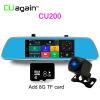 CU200 7 '' GPS 3G Car Dvr камера ночного видения Dash Cam Rearview Mirror Video Recorder HD 1080P G-Sensor Loop Recording full hd 1080p vehicle blackbox dvr with g sensor