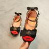 Детская обувь 2018 Весна Pearl Bow Дети Обувь Девушки Обувь Pu кожаные сандалии Детская обувь детская обувь