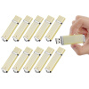 Fillinlight 10PCS Pack Светлый желтый прямоугольник Lighter Shape USB Flash Drive USB 2.0 Pen Drive Flash Drive ice cream style usb 2 0 flash drive disk brown dark grey 4gb