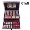 Розовый ручной макияж дела косметический мешок визажист специальный термоусадочная коробка макияжа