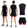 2018 новый жилет спортивный костюм мужская фитнес-одежда быстросохнущий жилет костюм жесткие дышащие баскетбольные костюмы костюмы wonderkids костюм