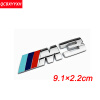 Значок эмблемы наклейки для логотипа 3D NEW M для BMW M X1 X3 F25 E70 E53 X6 E71 E60 E64 E39 E46 M3 M5 cool car auto decoration badge stickers m logo metal 3d car sticker for bmw m3 m5 x1 x3 x5 x6 e36 e39 e46 e30 e60 e92 all model