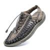 AiDELi Обувь ручной работы, обувь для обуви, пляжная обувь, мужские сандалии, повседневная обувь обувь ламода