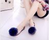 Simi Xu 2018 осенние плоские ботинки хрустальное желе летние женские ботинки цветок кружево большой рот рыбы сладкий лук открытый ботинки