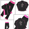 Фигурное катание тренировочный костюм костюм водонепроницаемая ткань высокоэластичные катание на коньках тренировочные брюки тренировочная куртка коньки одежда куртка коньки onlitop 223f 37 40 blue 806164