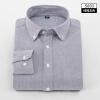 Рубашки мужские рабочие Марка Рубашки с длинными рукавами полосатые / саржевые рубашки мужские белые мужские рубашки
