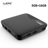 iLEPO M8S Pro L Android 7.1 Smart TV Box Amlogic S912 64 bit Quad Core H.265 4K HD WiFi TVcenter 17.3 IPTV Set-top Player Box m8 fully loaded xbmc amlogic s802 android tv box quad core 2g 8g mali450 4k 2 4g 5g dual wifi pre installed apk add ons