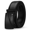 Playboy мужской автоматическая пряжка ремня мужской кожаный ремень прилив мужской пояс PDF3632-7B черный