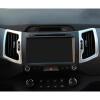 2шт. / Комплект Автомобильный кондиционер для воздухоотводной крышки обрезной отделкой для KIA Sportage R SL 2011-2015 внешние аксессуары myhung kia sportage 2010 2011 r abs 4