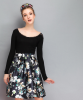 Lovaru ™2015 Осенью новая мода печати Тонкая талия юбки короткие юбки женщин моды soilid юбка юбки