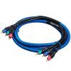 Cabos AV кабель/3RCA-3RCA кабель techlink 640143 3rca 3rca 3м