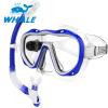 Whale Professional Водные виды спорта Дайвинг-маска для подводного плавания Плавание Дайвинг-очки для подводного плавания очки маски и трубки для плавания intex маска авиатор для плавания 55911