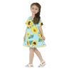 Подсолнечник Pattern Girls Dress Cute Girls Цветочная одежда A-line Платье для колена для детей Детская одежда 2-6 лет одежда для детей