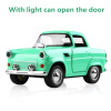 Cool Toy Car Die-casting alloy car back Sound And Light Toy Car Can Open The Door Car Styling Classic Cars Car model Kids Toys cool intellectual development diy toy car black blue 2 aa