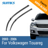 SUMKS Wiper Blades for Porsche Cayenne 26&26 Fit Side Pin Arms 2003 2004 2005 2006