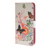 MOONCASE Butterfly style Leather Wallet Flip Card Slot Stand Pouch чехол для Huawei Ascend Y600 A02