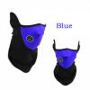 Ванкер Unisex пыле ветрозащитный пол-лица Маска вуаль гвардии зажигания для сноуборда Горнолыжный Туризм синий