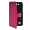 MOONCASE Slim Leather Side Flip Wallet Card Slot Pouch with Kickstand Shell Back чехол для Huawei Honor Holly Hot pink mooncase slim leather side flip wallet card slot pouch with kickstand shell back чехол для samsung galaxy a7 brown