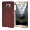 MOONCASE чехол для Samsung Galaxy Note 5 Wood Skin Hard Rubber Back Cover Wood-Red mooncase litchi skin золото chrome hard back чехол для cover samsung galaxy s6 edge красный