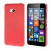 MOONCASE Жесткий Прорезиненные Резина Оболочка Вернуться Защитная крышка чехол для Microsoft Lumia 640 розовый mooncase жесткий прорезиненные резина оболочка вернуться защитная крышка чехол для huawei ascend y520 ярко розовый