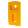 MOONCASE Side Flip Hard board Slim Leather Bracket Window чехол для Cover Microsoft Lumia 435 желтый mooncase side flip hard board slim leather bracket window чехол для cover microsoft lumia 625 желтый