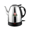 Electric kettle 304 stainless steel automatic power off anti-dry tea stove long mouth pot 220v 600w 1 2l portable multi cooker mini electric hot pot stainless steel inner electric cooker with steam lattice for students