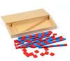 Новая деревянная детская игрушка Маленькие числовые стержни Монтессори Математика Обучение и образование Классический лес Детские игрушки Детские подарки новая деревянная игрушка для малышей маленький размер монтессори baby toy beech abacus обучение обучение обучение дошкольному образованию