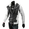CT&HF Мужчины Досуг Мода Куртка Корея Спорт Стиль длинными рукавами пальто Зимние Красивый утолщение Сращивание по контракту руно синдром счастья или ложь по контракту