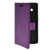 MOONCASE Slim Leather Flip Wallet Card Pouch with Kickstand Shell Back ЧЕХОЛДЛЯ Samsung Galaxy Core 4G G3518 Purple mooncase slim leather flip wallet card pouch with kickstand shell back чехолдля samsung galaxy s5 i9600 purple