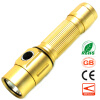 Mini LED Flashlight Camping Portable Light 18650 Rechargeable Handy Torch Cycling Bicycle Fishing Emergency Torchlight rechargeable mini led hand crank solar powered flashlight torch emergency light for outdoor camping hiking cycling