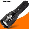 Zoom LED Flashlight 1000 Lumens 10W Tactical CREE T6 Police Flashlight Super Bright Handy Torch Powerful Torchlight Lamp self defence led flashlight 18650 lantern tactical zoom penlight cree led flashlights with 18650 battery torch new outdoor