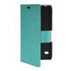 MOONCASE Slim Leather Side Flip Wallet Card Slot Pouch with Kickstand Shell Back чехол для Huawei Ascend Y550 Mint Green wkae double side embossing rose flower synthetic leather wallet case soft silicone back cover with flip kickstand and lanyard for huawei nova