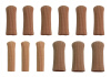 12 Pack Gel Toe Caps Втулка Замкнутый палец Пальцы Защитные пленки Трубы Рукава Чехлы Подушки Защитные обертки Сепараторы