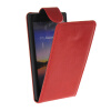 MOONCASE Smooth skin Leather Bottom Flip Pouch чехол для Huawei Ascend P7 Red mooncase smooth skin leather bottom flip pouch чехол для huawei ascend p7 hot pink