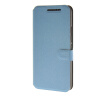 MOONCASE Ultra thin matte surface Leather Wallet Flip Card Slot Holster Pouch Stand Back чехол для HTC One M9 Blue ultra thin colorful cascading pull out card holder wallet