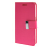 цена на MOONCASE чехол для Samsung Galaxy Core 2 II Duos G355H Flip Leather Wallet Card Slot Bracket Back Cover Hot pink